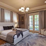 欧式风格主卧室装修效果图赏析