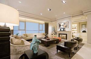 155平米精致简欧风格大户型室内装修效果图