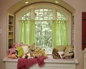 简欧风格温馨舒适飘窗设计装修效果图