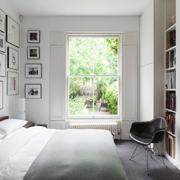 美式风格别墅室内卧室照片墙装修效果图赏析