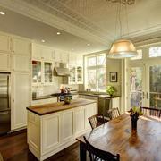30平米欧式风格整体厨房设计装修效果图