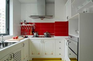时尚混搭风格两室两厅一厨一卫装修效果图