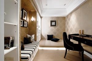 精致现代风格三室两厅两卫装修效果图