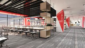 216平米现代loft风格办公室装修效果图赏析