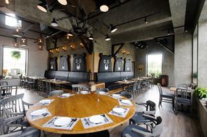 后现代风格创意西餐厅设计装修效果图鉴赏