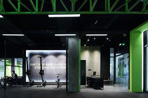 120平米现代loft风格健身房装修效果图赏析