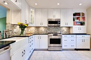 12平米现代简约风格厨房装修效果图赏析