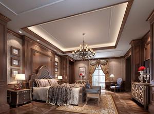 典雅欧式风格大户型室内装修效果图赏析
