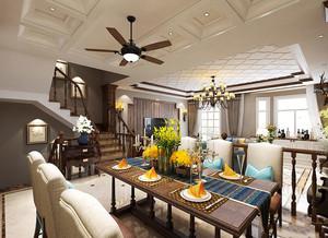 混搭风格两层别墅室内装修效果图赏析