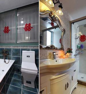 美式风格复式楼室内婚房设计装修效果图