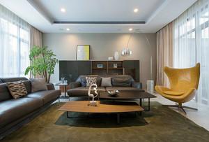 后现代风格大户型室内客厅设计装修效果图