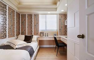 精致简欧风格三室两厅室内装修效果图