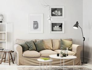宜家风格小户型客厅沙发装修效果图鉴赏
