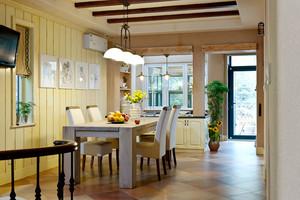 133平米现代简约美式风格复式楼室内装修效果图