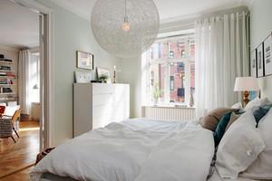 12平米自然北欧风格卧室装修效果图赏析