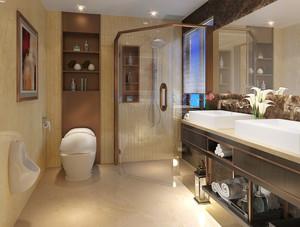 166平米新中式风格跃层室内装修效果图赏析