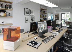 30平米简约风格办公室装修效果图赏析