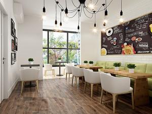 40平米自然简约宜家风格中餐厅装修效果图赏析