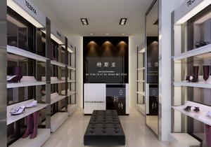 32平米简欧风格鞋店设计装修效果图