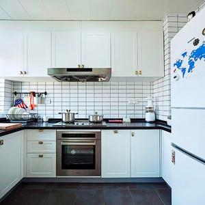 80平米现代工业风格室内装修效果图赏析