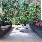 现代简约风格别墅入户花园装修效果图赏析