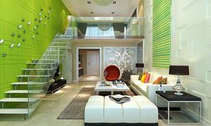 现代简约风格跃层楼梯装修效果图鉴赏