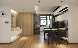 后现代风格60平米小户型室内装修效果图