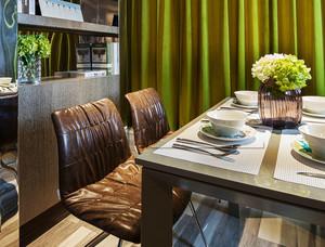 109平米现代简约风格小复式楼室内装修效果图