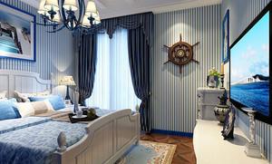 20平米地中海风格卧室装修效果图
