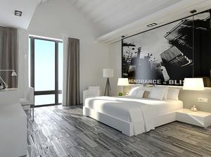 120平米现代简约风格复式楼室内装修效果图