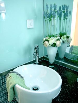 时尚现代简约风格三室两厅一卫精装修效果图