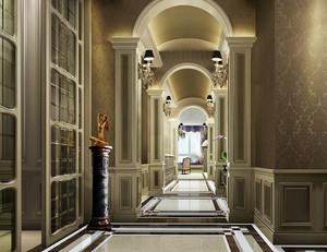 166平米华丽精致欧式风格跃层室内装修效果图赏析