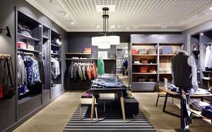 115平米现代风格男士服装店装修效果图