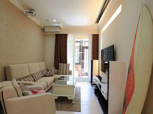 60平米现代风格小户型室内装修效果图