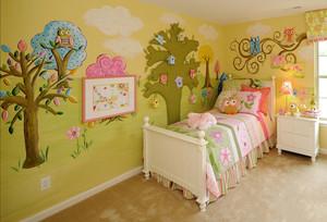 20平米简欧风格儿童房装修设计效果图赏析