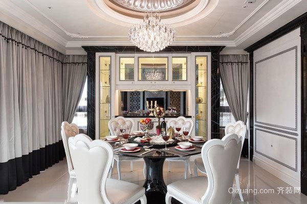 古典欧式风格两室两厅装修效果图赏析