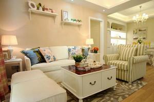 韩式风格三室两厅一卫装修效果图赏析