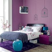 后现代风格三居室卧室装修效果图赏析