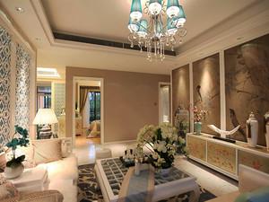 精致典雅混搭风格三室两厅室内装修效果图赏析