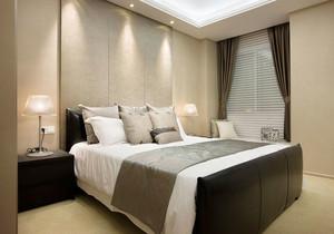120平米现代简约风格三居室室内装修效果图