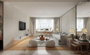现代简约中式风格大户型室内装修效果图鉴赏