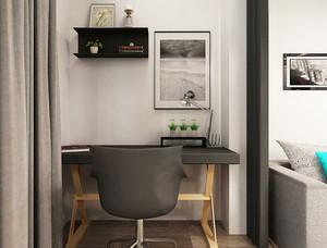北欧风格小户型阳台小书桌设计效果图鉴赏