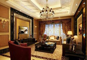 新古典风格别墅客厅设计装修效果图鉴赏