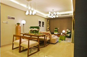 新中式风格两室一厅室内装修效果图赏析