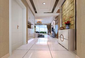 133平米简欧风格入户玄关柜设计效果图赏析