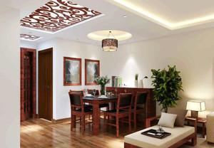 中式风格小户型餐厅装修设计效果图赏析