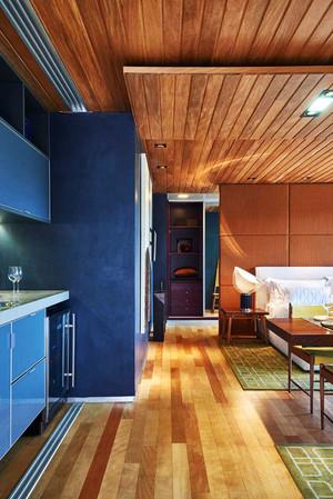 50平米后现代风格小户型室内装修效果图