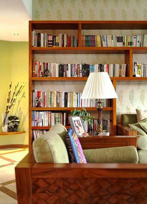 70平米东南亚风格两室一厅室内装修效果图赏析