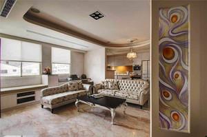 精致温馨简欧风格三室两厅一卫室内装修效果图