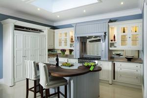 140平米欧式风格厨房橱柜设计效果图鉴赏
